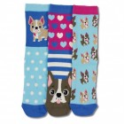 Oddsocks Hund Lucy Socken in 37-42 im 3er Set