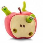 Apfel mit Würmern Stressball