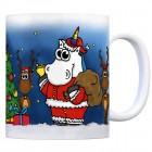 Honeycorns Kaffeebecher mit Einhorn Weihnachten Motiv