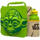 Star Wars Yoda 3D Lunchbox mit Trinkflasche