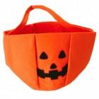 Halloween Kürbis Korb für Süßigkeiten