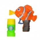 Clownfisch Seifenblasenpistole mit 60 ml Seifenlauge
