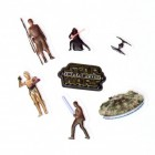 Star Wars 3D Sticker Variante 4 im 7er Set