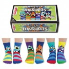 Oddsocks Mini Mashers Socken im 6er Set