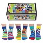 Oddsocks Mini Mashers Socken im 6er Set