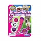 Taschenlampe mit Pferde Projektor