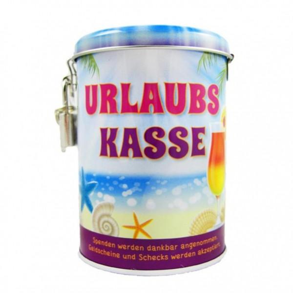 """Spardose Keramik /"""" Rucksack /"""" mit Schloß und Schlüssel"""