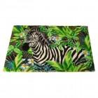 Zebra Fußmatte