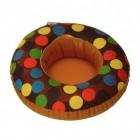 Schoko-Donut Getränkehalter