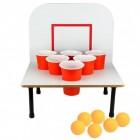 XXL Bier Pong Trinkspiel mit Tisch