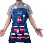 Bier Pong Kochschürze mit 6 Bechern und 3 Bällen