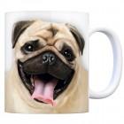 Kaffeebecher mit Mops Motiv