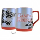 Game of Thrones Haus Stark Bierkrug mit Reliefschrift