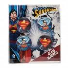 Superman Kühlschrankmagnete im 4er Set