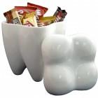 Die XXL Zahn Keksdose aus Keramik