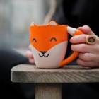Fuchs Kaffeebecher