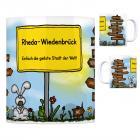Rheda-Wiedenbrück - Einfach die geilste Stadt der Welt Kaffeebecher