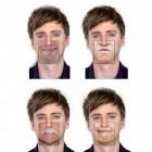 Die Face Mats Untersetzer mit 40 lustigen Motiven