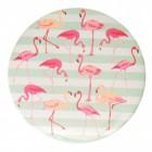Flamingo Variante 1 Taschenspiegel