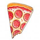 Pizza Kuscheldecke