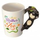 Affe 3D Kaffeebecher mit Affe als Griff