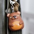 Bär Schlüsselanhänger mit Licht und Sound